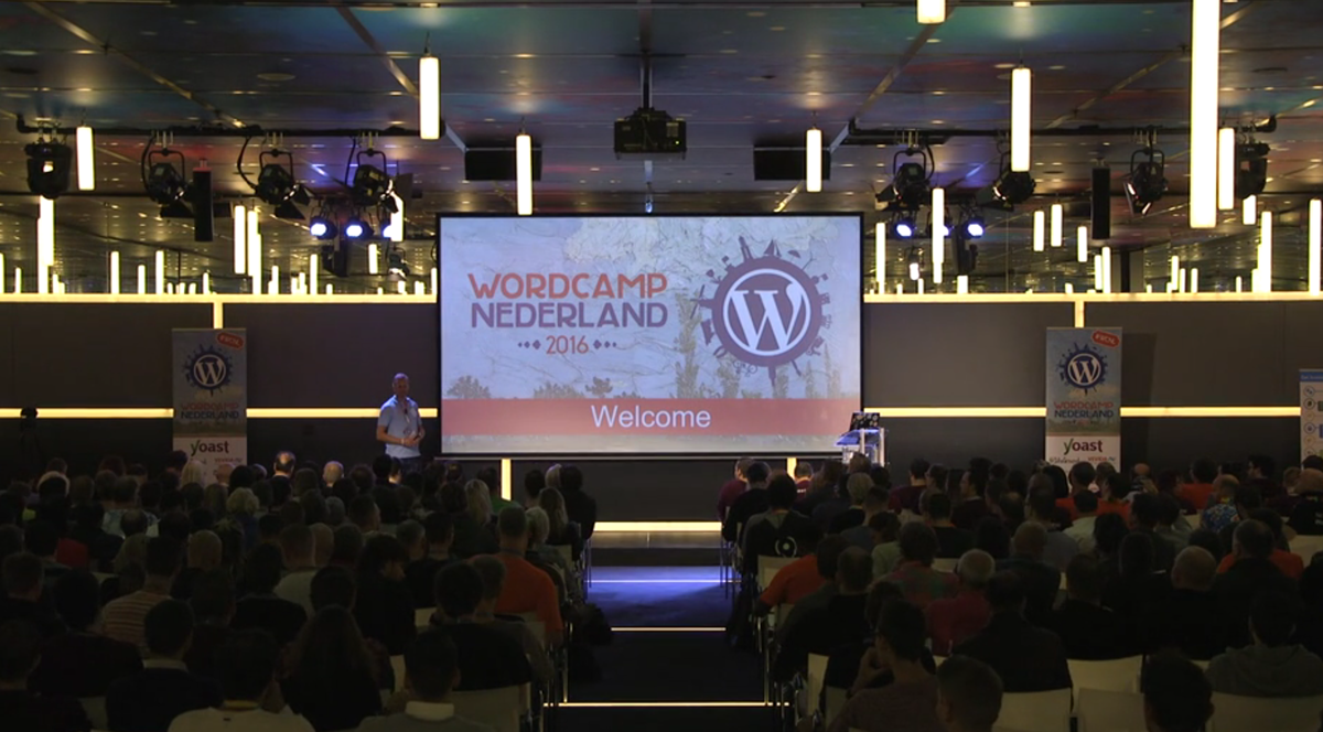 Easy.gr at Wordcamp Netherlands 2016