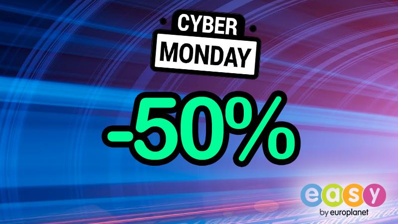 Cyber Monday με -50% σε ΟΛΑ!